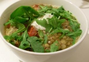 I made lentils